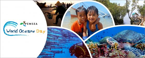 PEMSEA supports the international celebration of World Oceans Day