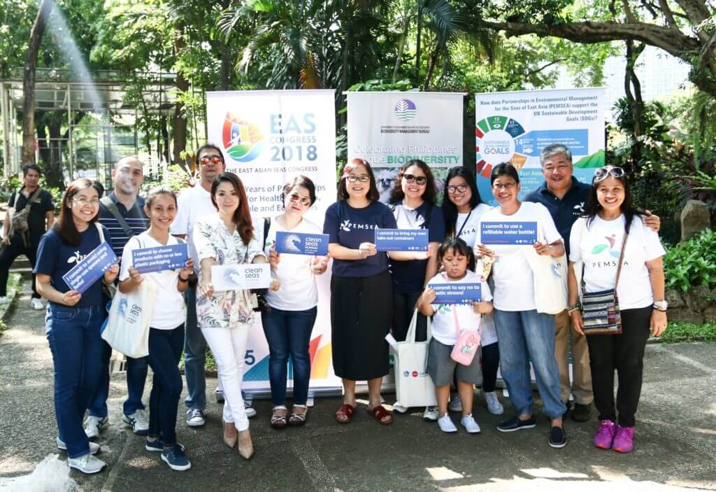 PEMSEA supports Clean Seas Pilipinas launch
